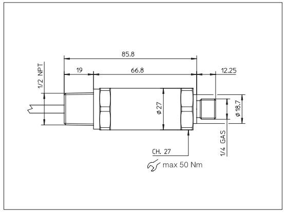 防爆压力传感器接线图