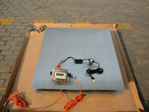 3吨电子地磅秤
