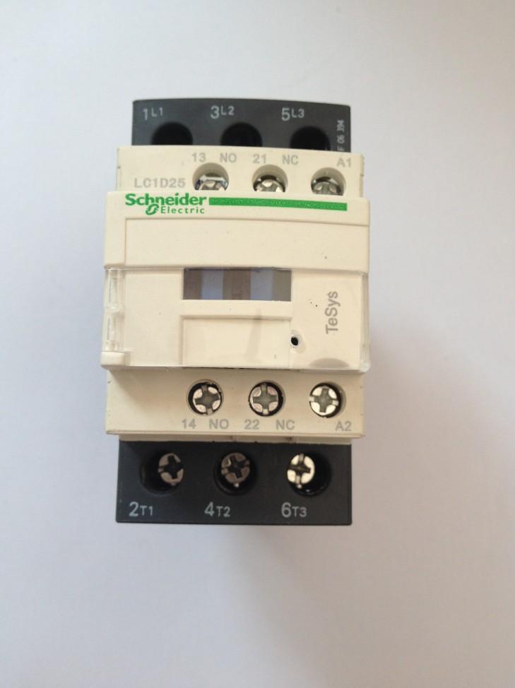 lc1d施耐德交流接触器lc1d25交流接触器lc1-d25m7c/q