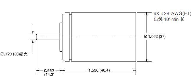 亨士乐hengstler旋转编码器外观技术参数