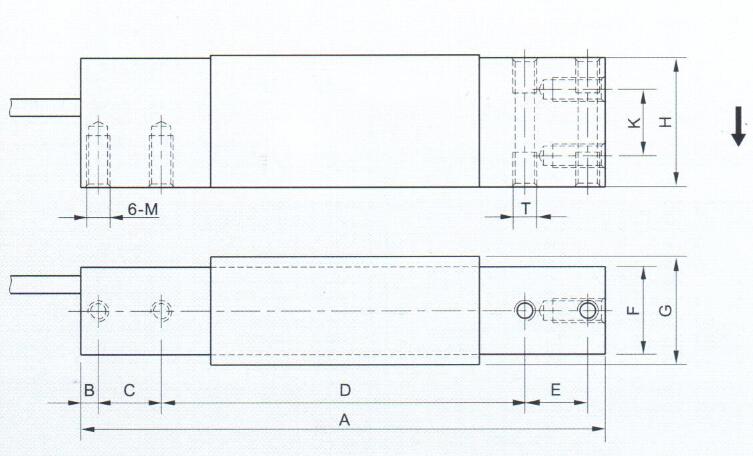美国ac pe-2a信号转换器 电子案秤传感器pe-2a型传感器3-100kg