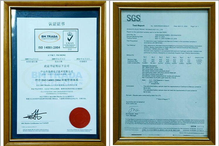 """Shimastu电子科技有限公司,一个专用的密封铅酸(SLA)电池的专业厂家,引进日本AGM公司的技术基础。Shimastu一直在研究、开发、生产和营销SLA电池自2001年以来。采用先进的技术过程从日本技术和现代化的生产设备和检测设备,Shimastu一直为客户提供SLA的NP系列电池使用寿命长,质量可靠,性能稳定。 Shimastu包括30技术人员超过350人,位于广东省珠江三角洲,中国。Shimastu已经向世界输出SLA电池在其自己的品牌""""Shimastu""""或OEM订单。"""