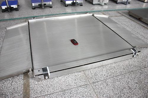 3吨不锈钢地磅带斜坡