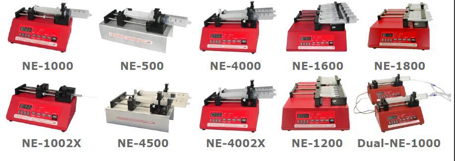 美国ERA Syringe Pump 注射泵,NE-9000 Peristaltic Dispensing Pump,NE-300 Just Infusion Single Syringe Pump,NE-1000 Single Syringe Pump,NE-4000 Double Syringe Pump,NE-1002X Microfluidics Single Syringe Pump,Continuous NE-1000X Next Generation Continuous Infusion Syringe Pump System,NE-1000,NE-500,NE-4000,NE-1600,NE-1800,NE-1002X,NE-4500,NE-4002X,NE-1200,Dual-NE-1000