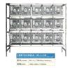 TK-RS-15不锈钢干养式实验兔笼(3层×5=15笼)
