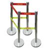 不锈钢安全围栏 专业设计生产电力安全围栏 绝缘伸缩围栏